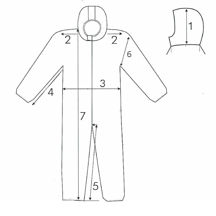 Схема комбинезона Каспер