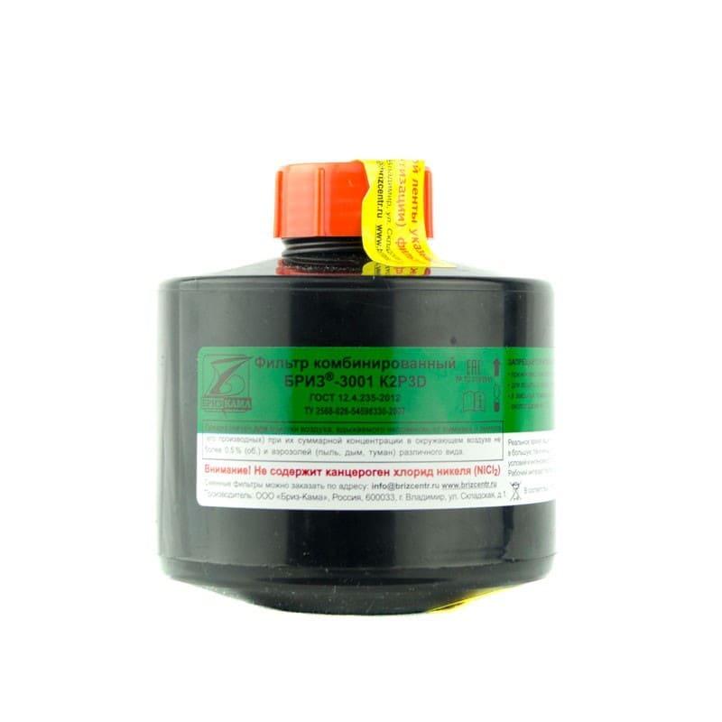 Противогазовый фильтр K2P3D