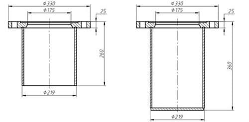 Подставка под гидрант ППС-200