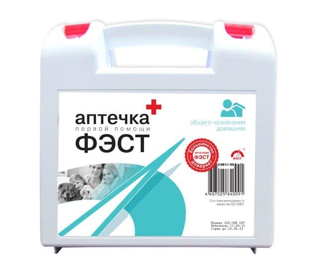 Аптечка общего назначения ФЭСТ (домашняя)