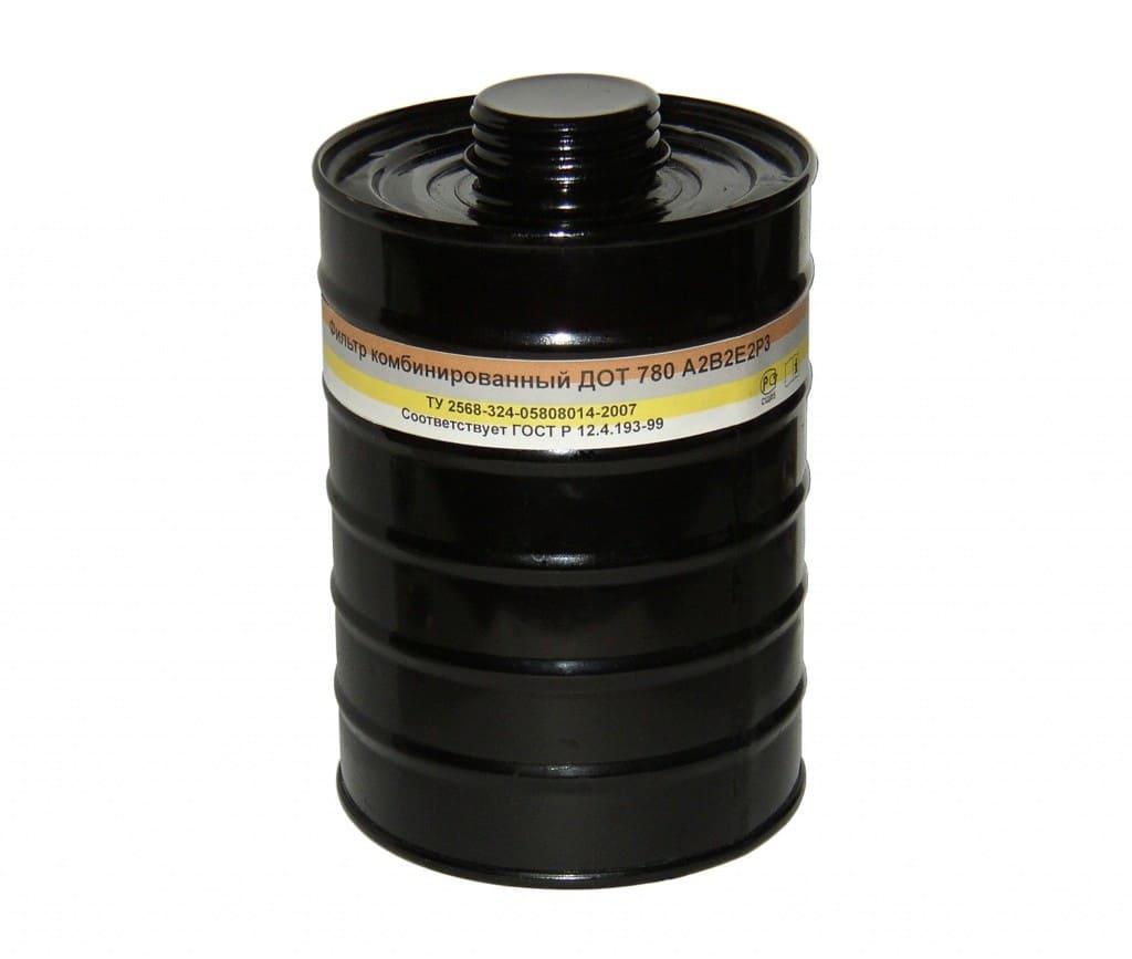 Фильтр ДОТ 780 A2B2E2P3D с развернутой шихтой