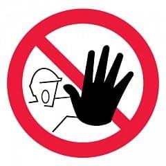 P06 Доступ посторонним запрещен