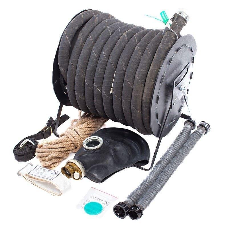 Шланговый проивогаз ПШ-1Б на барабане