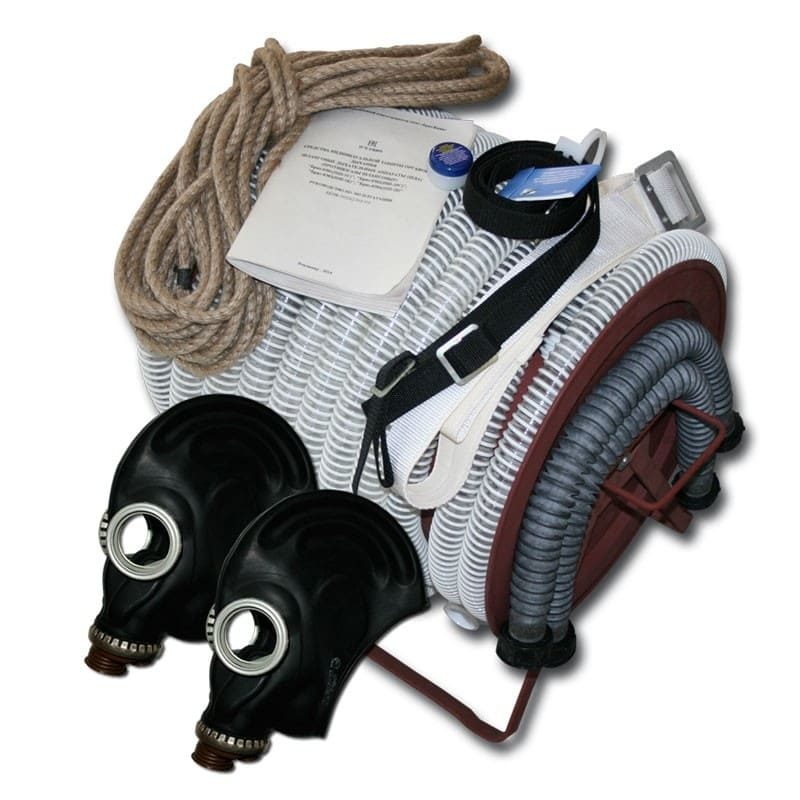 Противогаз шланговый ПШ-20Б - РВ шланг ПВХ
