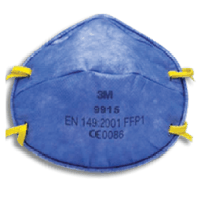 Респиратор полумаска 3М 9915