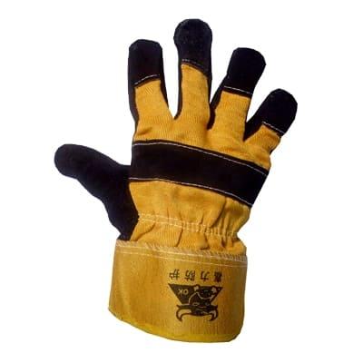 Перчатки спилковые комбинированные Ангара