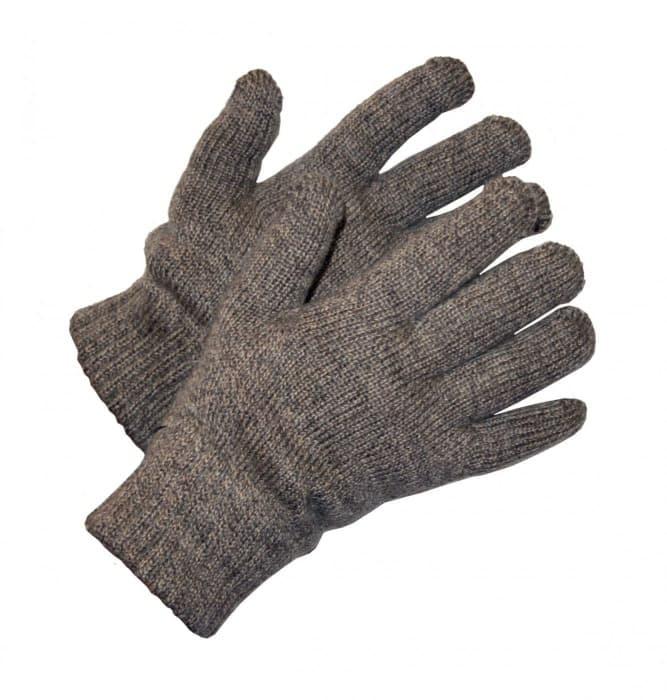 Перчатки утепленные двойные полушерстяные «Январь»