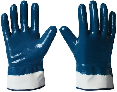Перчатки нитриловые Крага (полное покрытие)