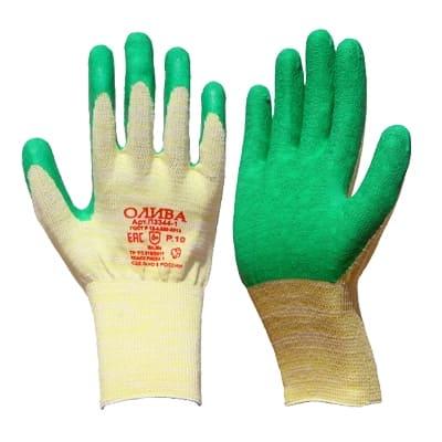 Перчатки обливные со вспененным латексом