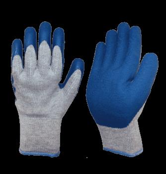 Перчатки утепленные двойные с латексным покрытием