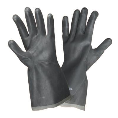 Перчатки кислотощелочестойкие