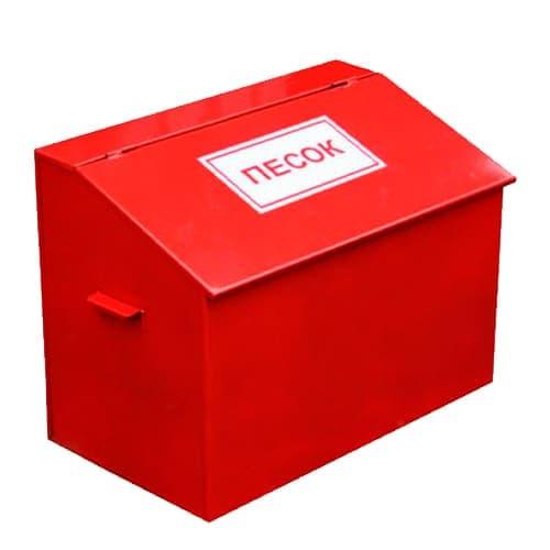 Пожарный ящик для песка в сборе 0,1 м3