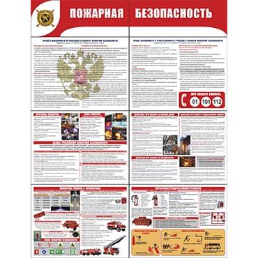 """Р-4 Стенд раскладной """"Пожарная безопасность"""""""
