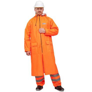 Плащ влагозащитный Poseidon WPL оранжевый
