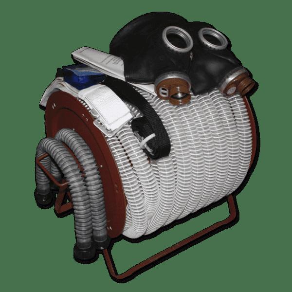 Комплект шлангового противогаз ПШ-20Б РВ с ПВХ шлангом