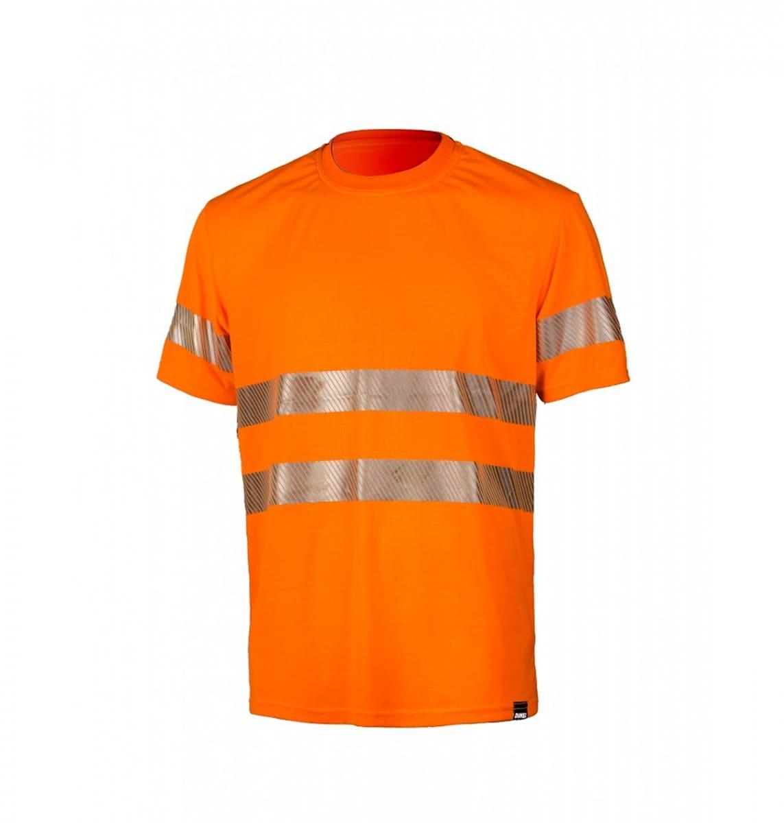 Футболка сигнальная светоотражающая с СОП ярко оранжевая