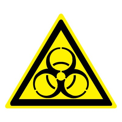 W16 Биологическая опасность (Инфекционные вещества)