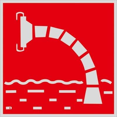 F07 Пожарный водоисточник (Световозвращающий)