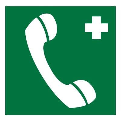 EC06 Телефон связи с медицинским пунктом (скорой медицинской помощью)