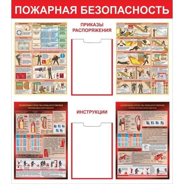 Стенд пожарная безопасность СТ030