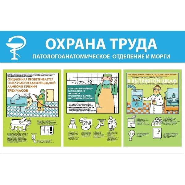 Охрана труда. Патологоанатомическое отделение и морги